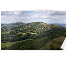 Malvern Hills from British Camp Poster