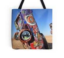 Route 66 Cadillac Ranch Tote Bag