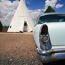 Route 66 Wigwam Motel by Frank Romeo
