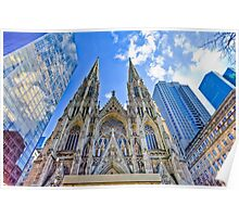 Saint Patrick's Cathedral - NYC Poster