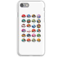 Pokéball 1 iPhone Case/Skin