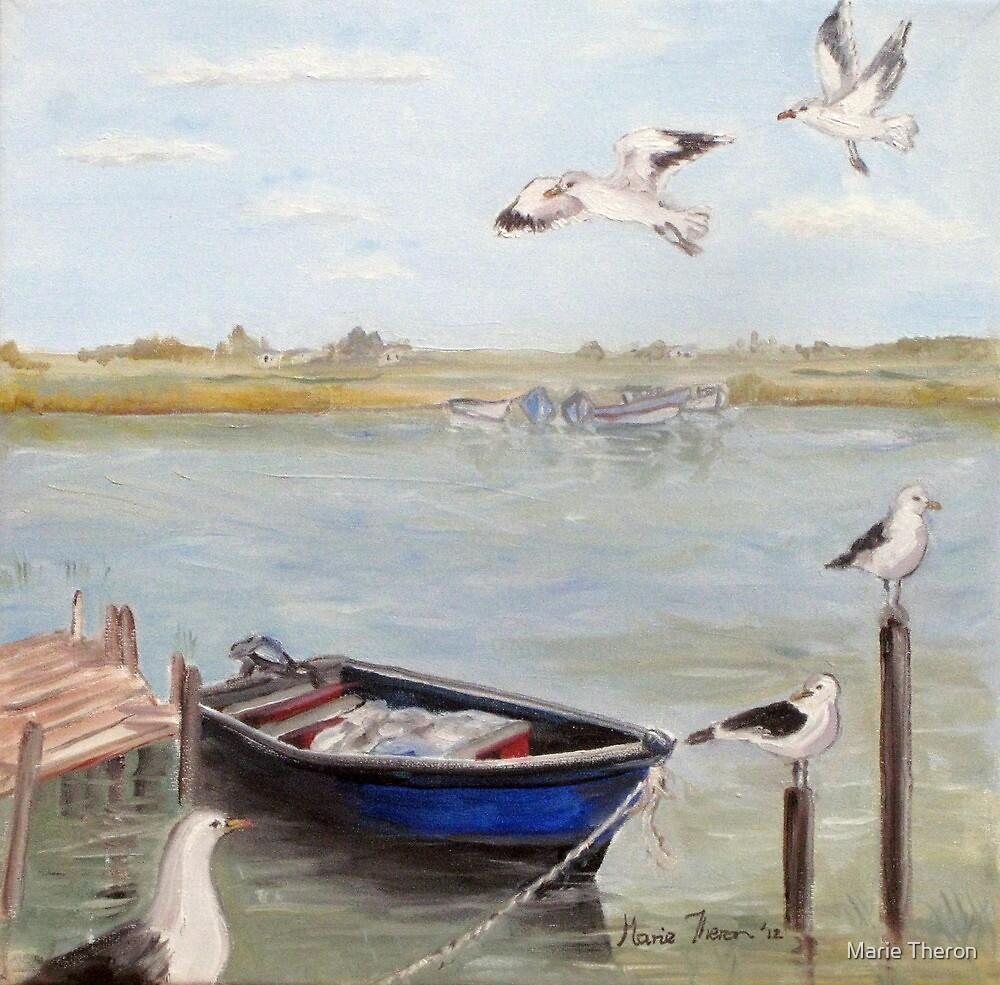 Velddrif Scene by Marie Theron