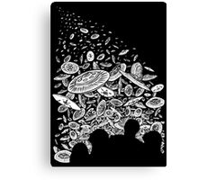 The Day the Saucers Came Canvas Print