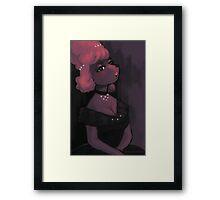 Poodle Girl Framed Print