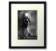 Smokin Hot Framed Print