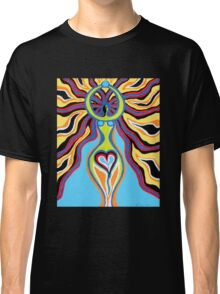 Goddess of the Moon - Abstract Art by Valentina Miletic Classic T-Shirt