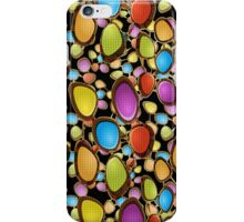 Abstract Random Colorful Oval Shapes iPhone Case/Skin