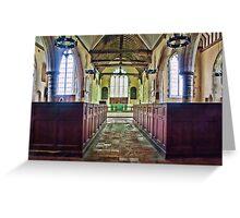 St Matthew Warehorne Greeting Card