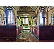St Matthew Warehorne Photographic Print