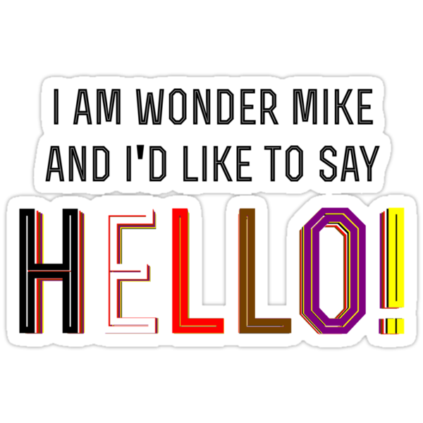 I am Wonder Mike by MTKlima