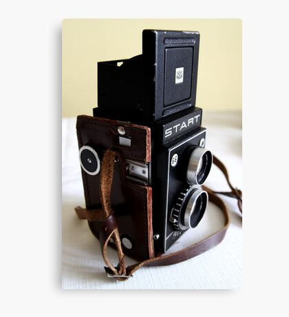 Old style camera Canvas Print