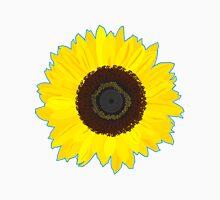 Digital Geometric Sunflower Unisex T-Shirt
