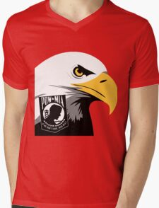 The American Eagle Remembers Mens V-Neck T-Shirt