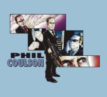 Phil Coulson- Honorary Avenger- LighterShirts by pagebranson