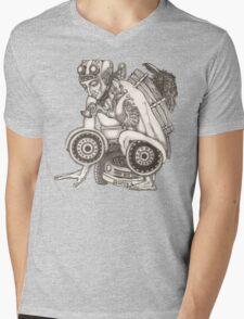 Automobile Heart & Soul Mens V-Neck T-Shirt