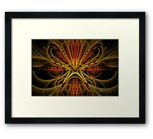 Get The Flux Outta Here! Framed Print
