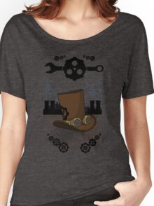 Steam Nouveau art Women's Relaxed Fit T-Shirt