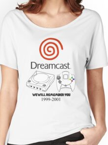 Dreamcast 4 Life Women's Relaxed Fit T-Shirt