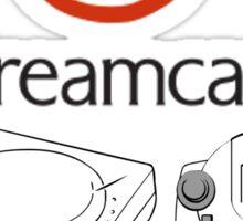 Dreamcast 4 Life Sticker