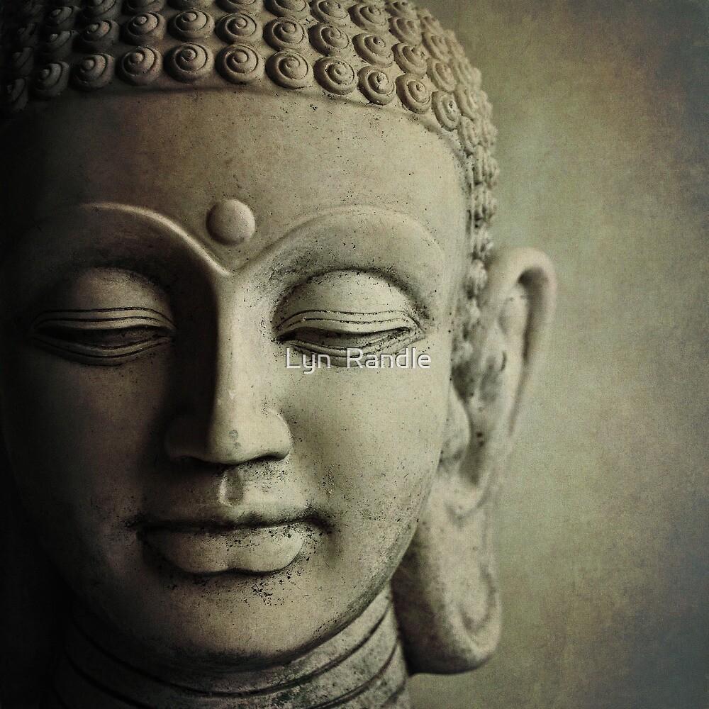 Buddha Head by Lyn  Randle