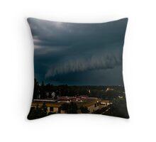 Shelf Cloud Throw Pillow