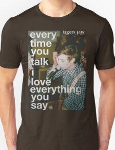 Tigers Jaw lyrics T-Shirt