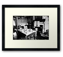 Back in Time? Framed Print