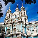 Smolny Convent by eddiechui