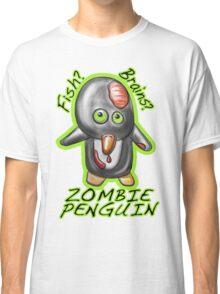 Zombie Penguin Classic T-Shirt