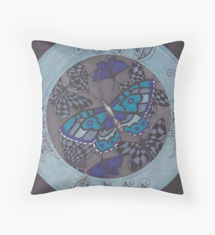 Into Ten Thousand Trees Throw Pillow