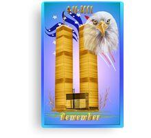 Remember 9-11 Canvas Print