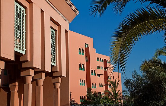 Morocco. Marrakech. Hotels in Gueliz. by vadim19