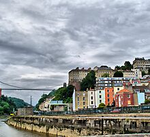 Bristol - Clifton Suspension Bridge by Karen Martin