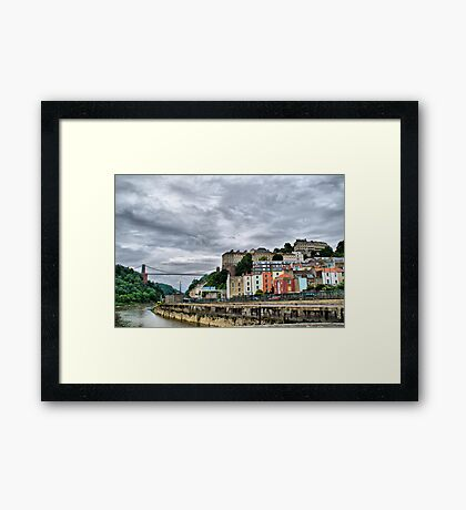 Bristol - Clifton Suspension Bridge Framed Print