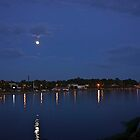 Moon Over Rhode Island by Nancy Richard