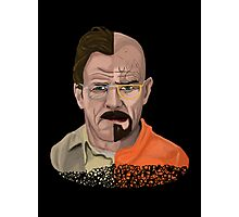 The Two Faces of Walter White Photographic Print