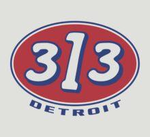 Detroit 313 Oval  by davidkyte