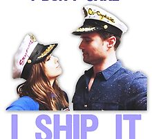 I Don't Care, I Ship Skyeward! by sarahmosc