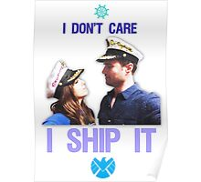 I Don't Care, I Ship Skyeward! Poster