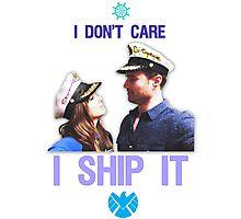 I Don't Care, I Ship Skyeward! Photographic Print