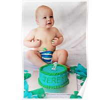 On Your 1st Birthday Poster