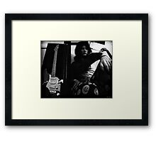 Public of your Past Framed Print