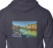 Life in Venice Zipped Hoodie