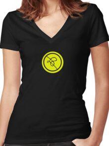 Plasma Ball! Women's Fitted V-Neck T-Shirt