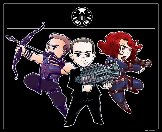 The Big Three Chibis by pagebranson