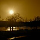 Sepia Sunset by Mary Fox