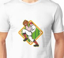 Baseball Pitcher Player Pitching Diamond Unisex T-Shirt