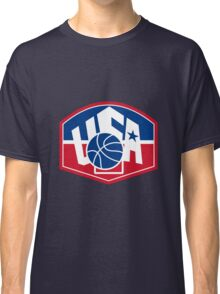 United States USA American Basketball Ball Shield Classic T-Shirt