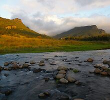 Albert River. Lost World. Scenic Rim. Southeast Queensland. by Ian Hallmond