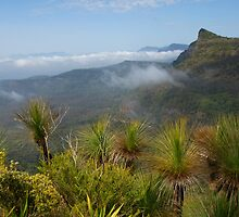 Cunninghams Gap- Mount Mitchell and Scenic Rim. Qld. by Ian Hallmond